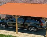 Lapos tetők vízszigetelése Onduline BFX lemezzel