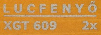 Milesi XGT 609 Tölgy