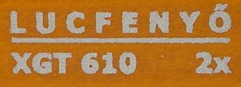 Milesi XGT 610 Erdei fenyő